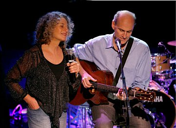 CAROLE KING AND JAMES TAYLOR INTERVIEWED (2010): Attitudes and platitudes