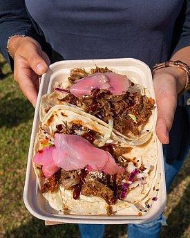 Jaron's Roast Duck Tacos