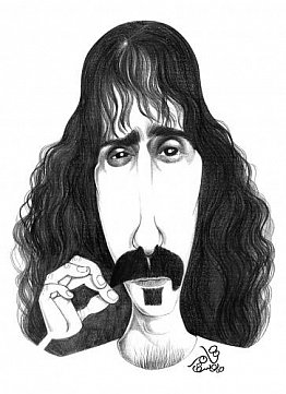 FRANK ZAPPA. AGAIN: Just one more time . . .