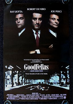 GOODFELLAS, a film by MARTIN SCORSESE: Making a killing in crime