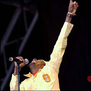 JIMMY CLIFF, REGGAE PIONEER, INTERVIEWED (1993): Many rivers crossed