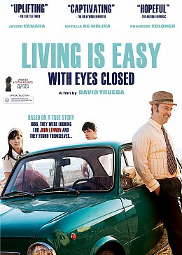 LIVING IS EASY WITH EYES CLOSED, a film by DAVID TRUEBA (Madman DVD)