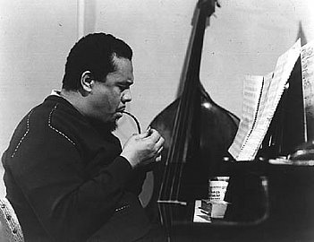 CHARLES MINGUS, PITHECANTHROPUS ERECTUS IN 1956: Man standing up tall