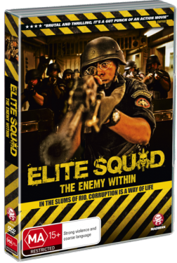 ELITE SQUAD; THE ENEMY WITHIN by JOSE PADILHA (Madman DVD)