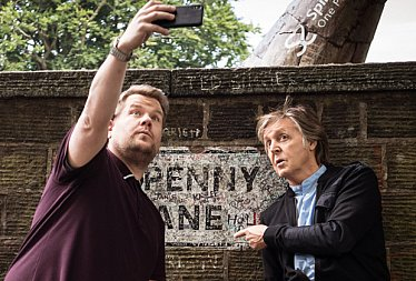 PRIME ROCKS; CARPOOL KARAOKE; WHEN CORDEN MET McCARTNEY (2018): You don't know how lucky you are, boy