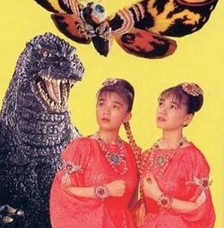 GUEST WRITER MADELINE BOCARO on twin-powered Japanese pop and Mothra movies