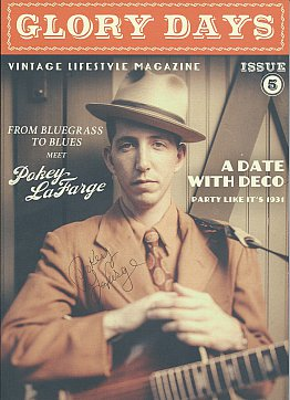 POKEY LaFARGE INTERVIEWED (2015): The past is alive and well and living in the present