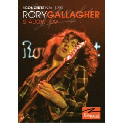 Rory Gallagher: Shadow Play, Concerts 1976-90 (DVD, Shock)