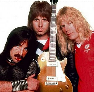 SPINAL TAP, NIGEL TUFNEL INTERVIEWED (1992): The wind cries Spinal