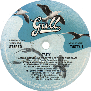 VARIOUS ARTISTS. TASTY, CONSIDERED (1975): But it's strange and schizophrenic . . .