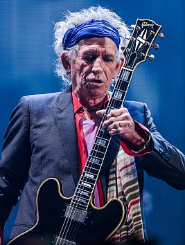 KEITH RICHARDS INTERVIEWED (2013): Coming down again
