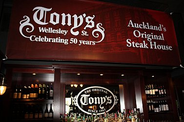 TONY'S RESTAURANT IN AUCKLAND (2020): Home away from home, endangered