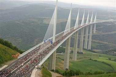 SIR NORMAN FOSTER'S BRIDGE AT MILLAU (2004):  Sublime Architecture; From Here to Modernity